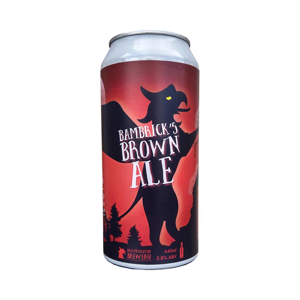 Ballykilcavan Bambricks Brown Ale 440ml