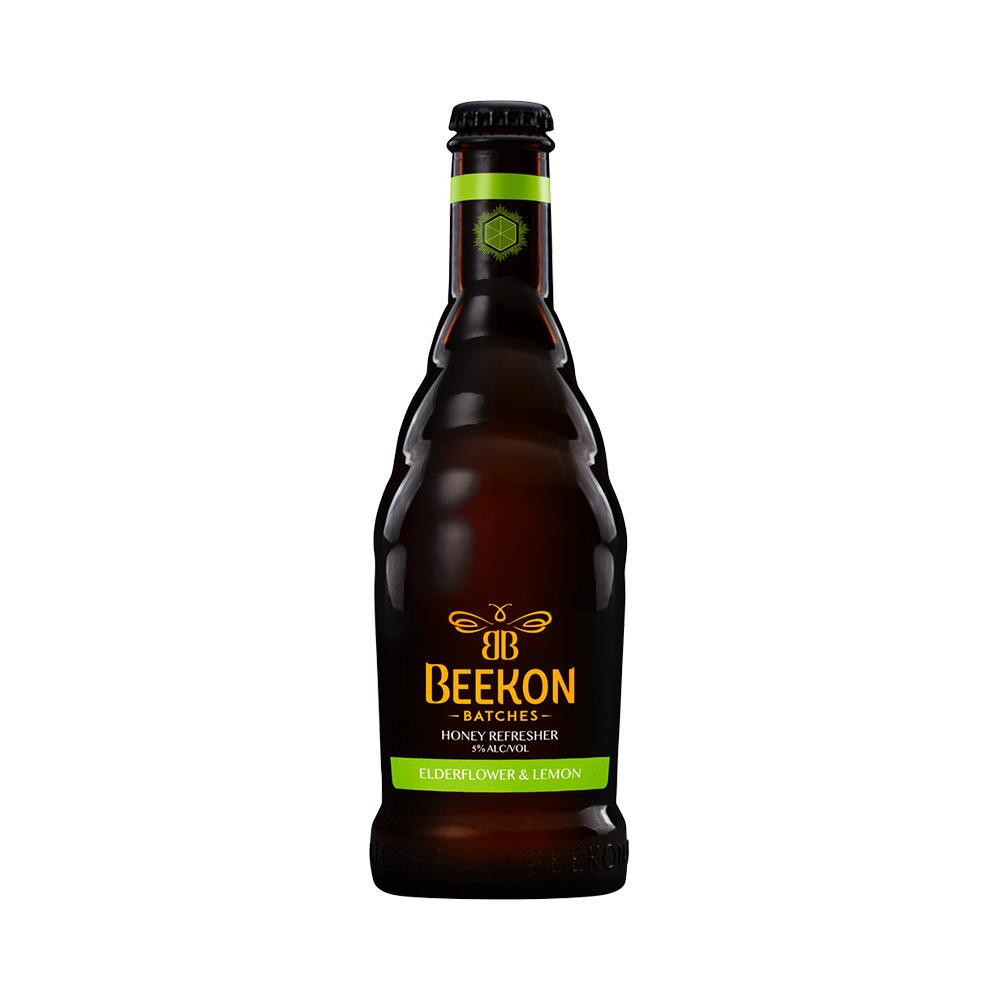 Beekon Elderflower & Lemon 330ml