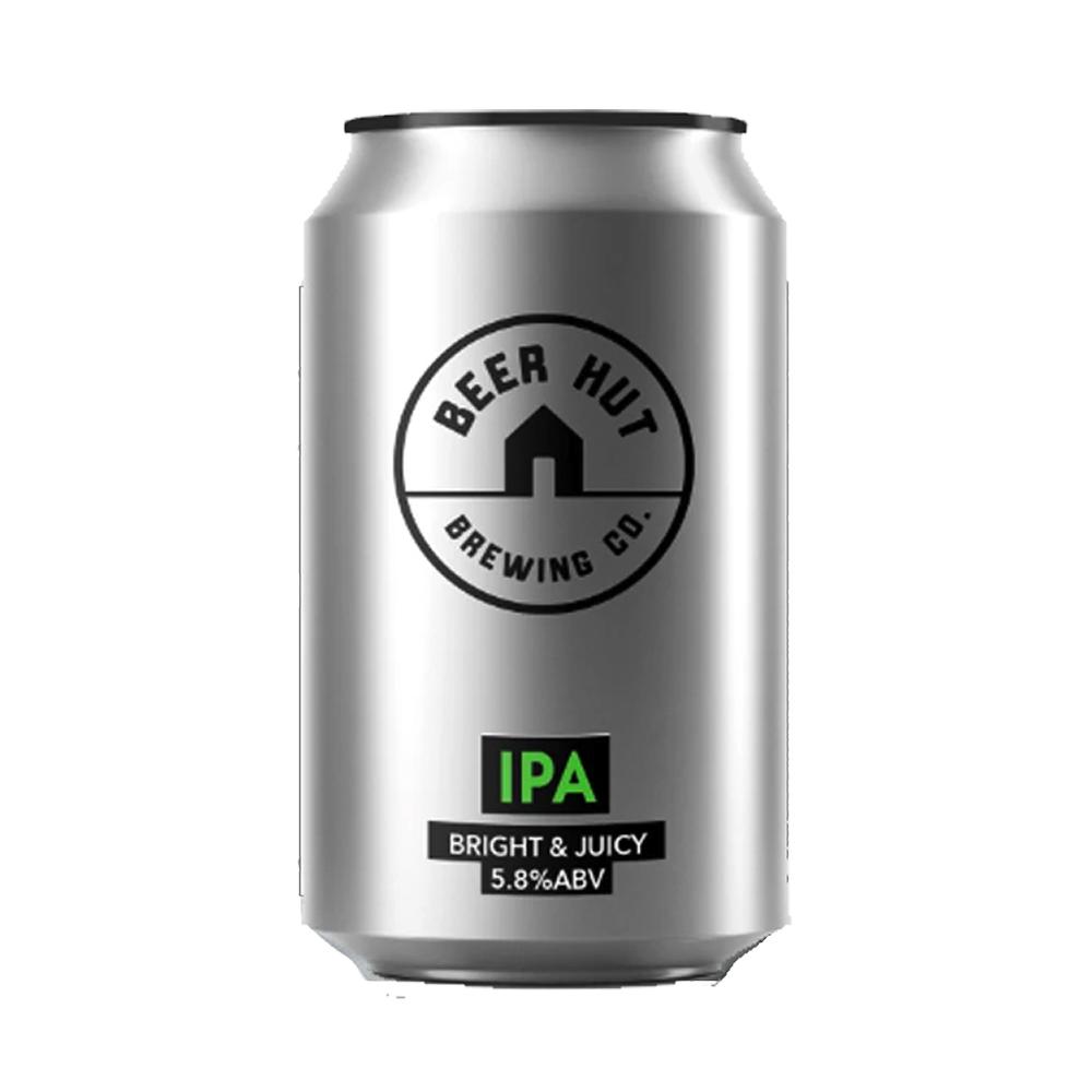 Beer Hut Bright & Juicy IPA 330ml Can