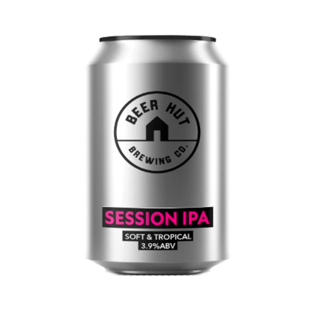 Beer Hut Session IPA Soft And Tropical 330ml