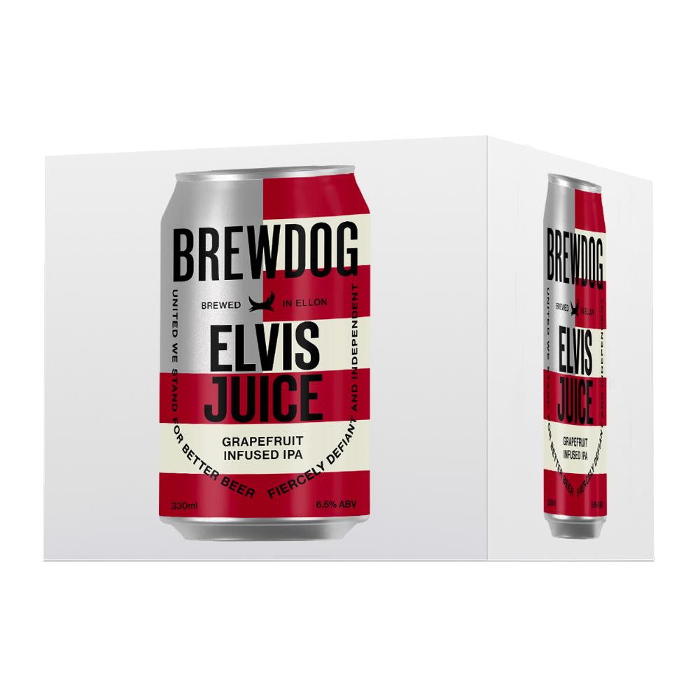 BrewDog Elvis Juice 4-pack 330ml Can