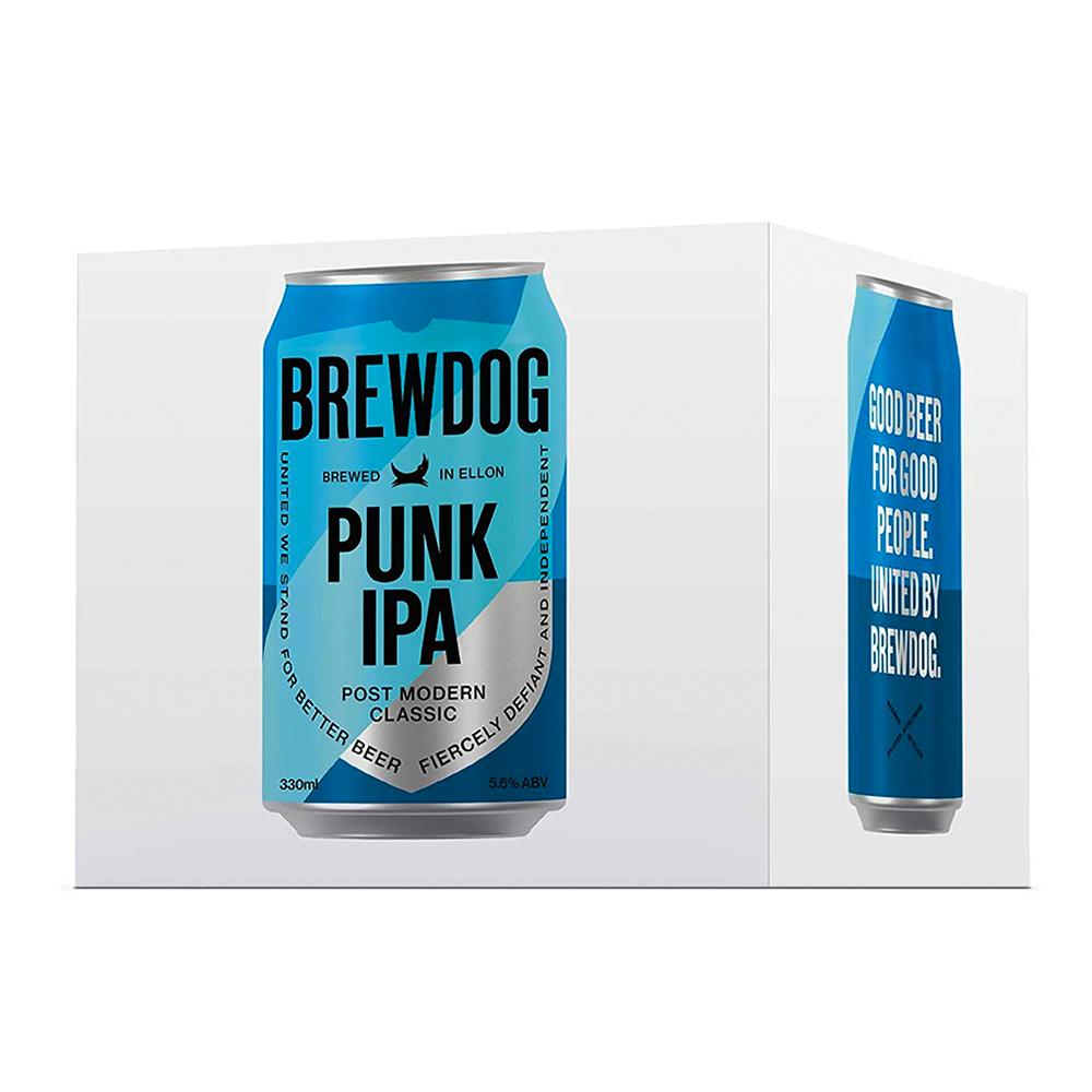 BrewDog Punk IPA Can 330ml 4-pack