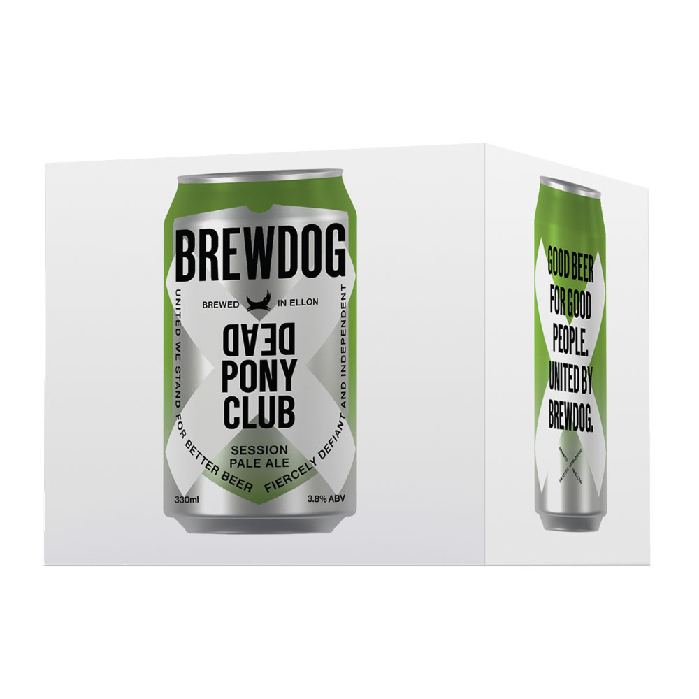BrewDog Dead Pony Club Session IPA 4-Pack 330ml Can