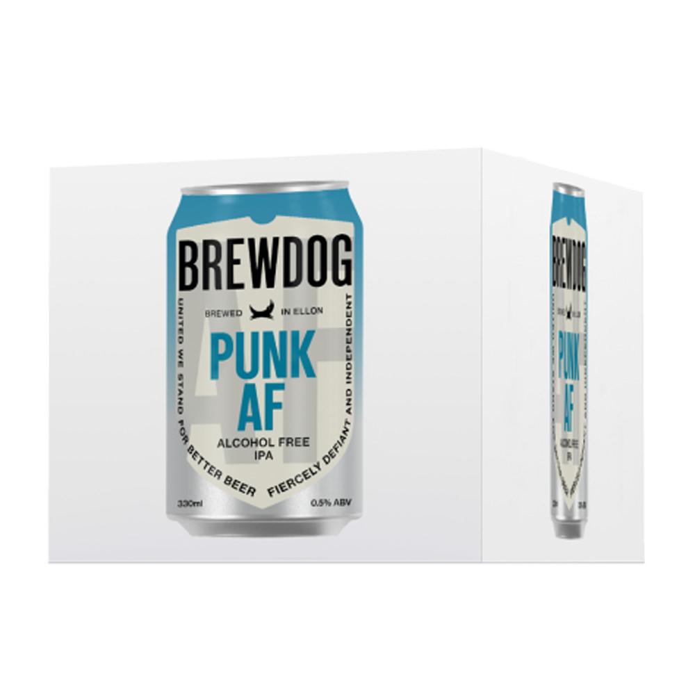BrewDog Punk AF 4-Pack 330ml