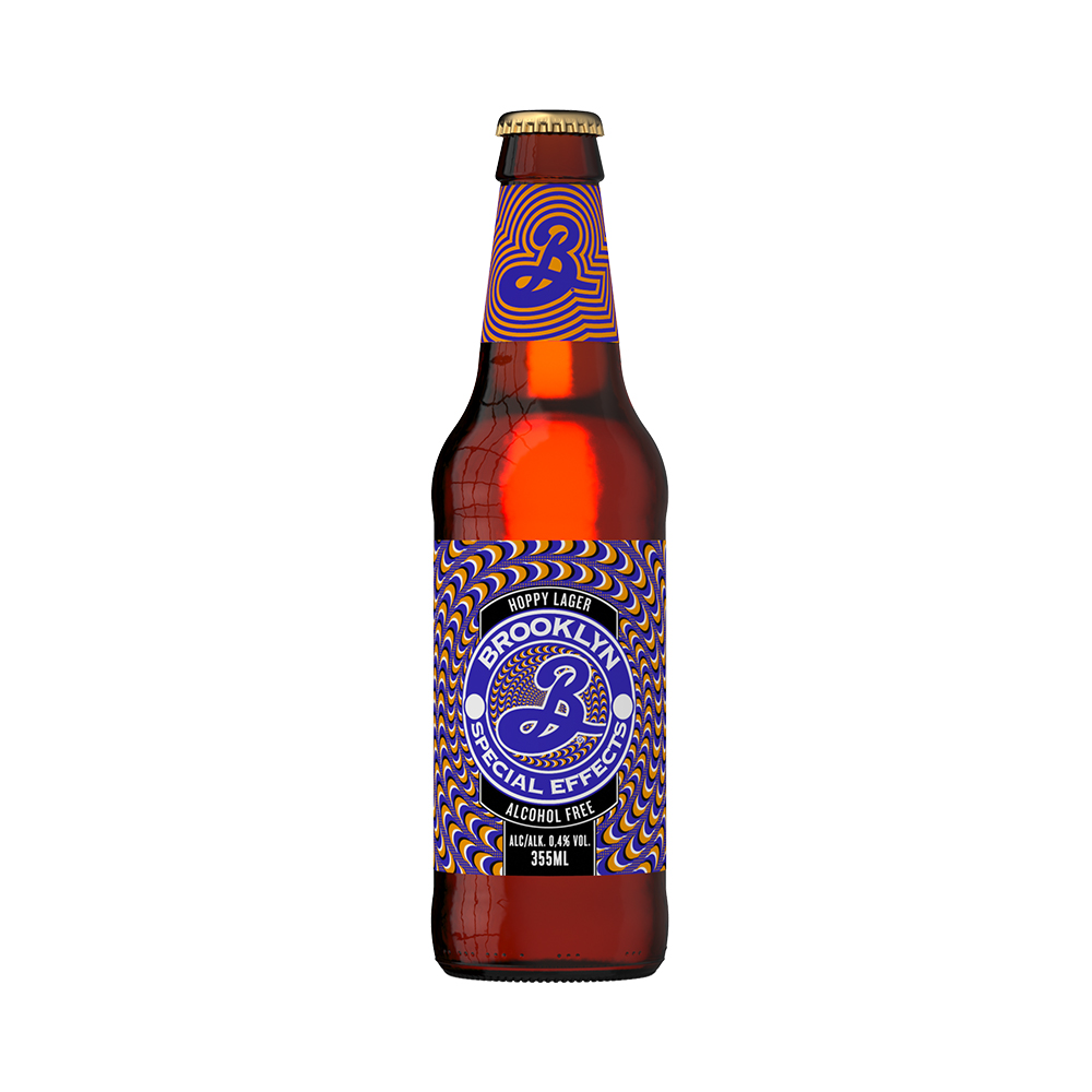 Brooklyn Special Effects Alcohol Free Hoppy Lager 330ml Bottle