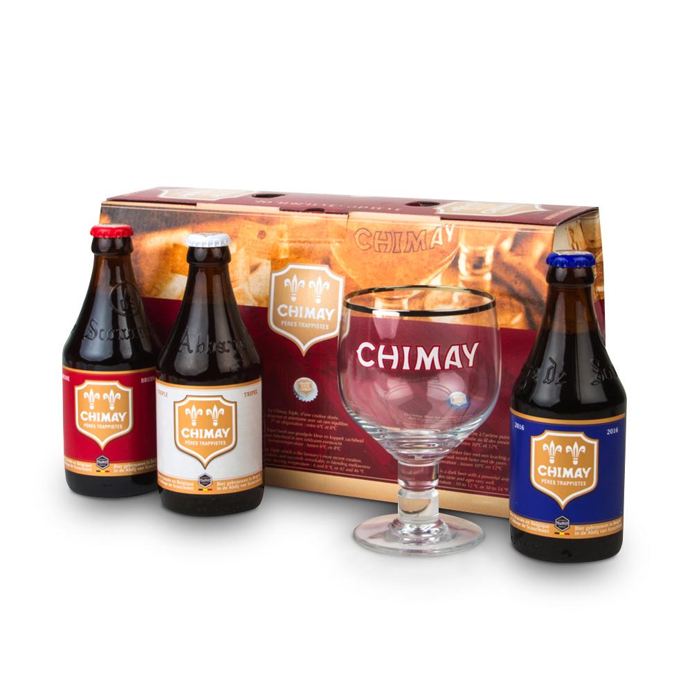 Chimay Trilogy 330ml Gift Set
