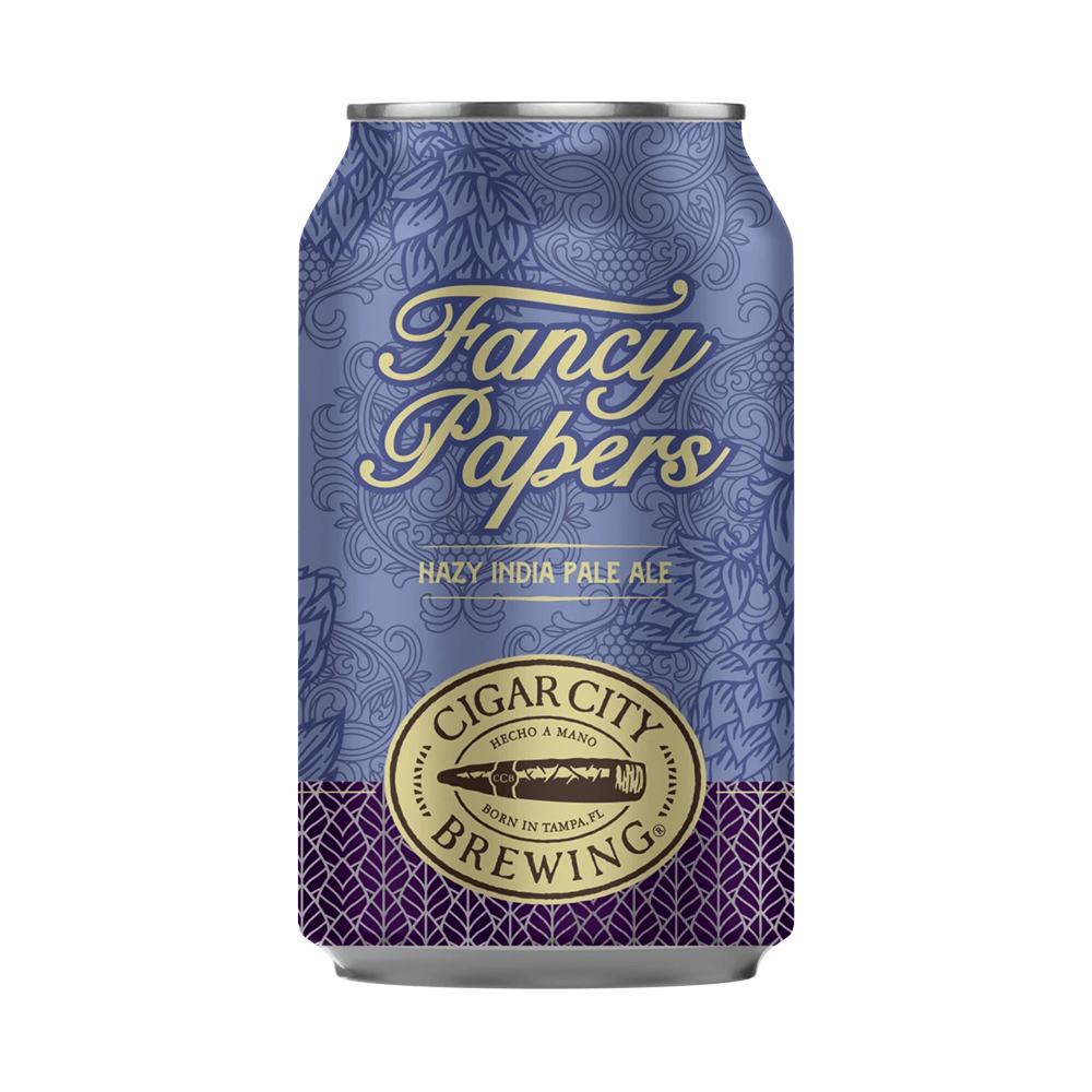 Cigar City Fancy Papers Hazy IPA 355ml Can