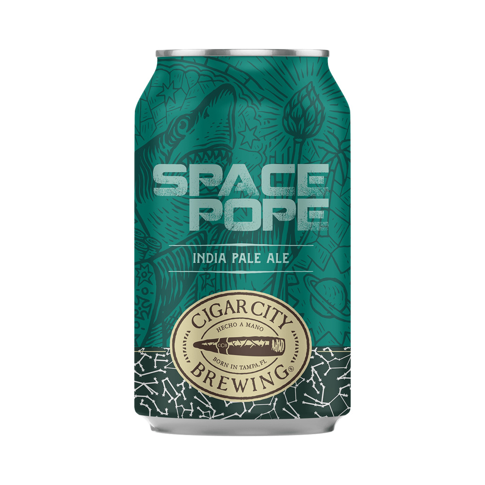 Cigar City Space Pope IPA 355ml