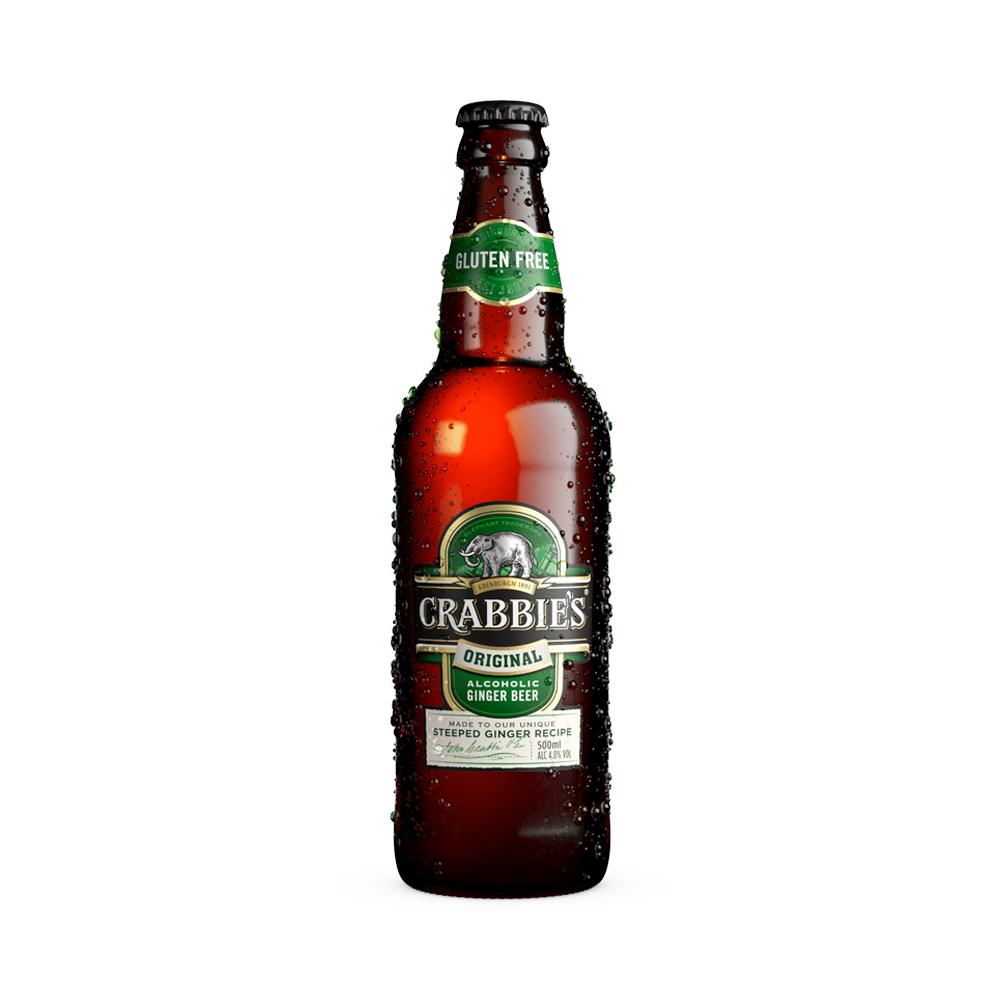 Crabbie's Original Ginger Beer 500ml