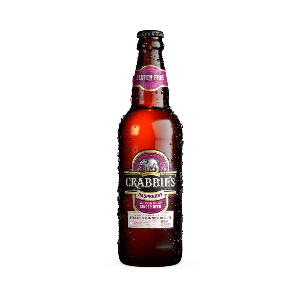 Crabbie's Raspberry Ginger Beer 500ml