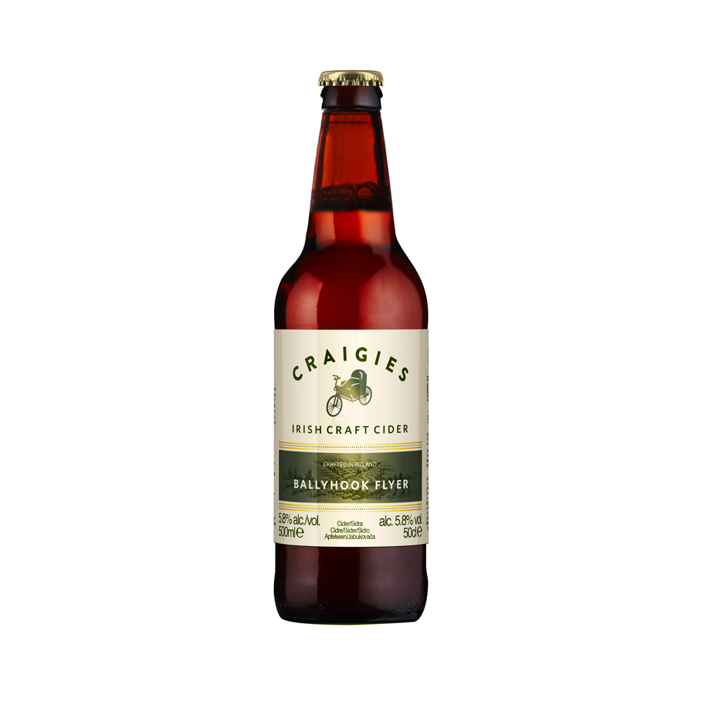 Craigies Ballyhook Flyer Irish Cider 500ml