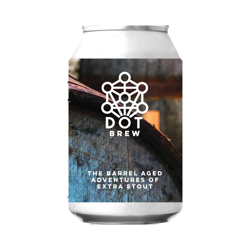 DOT Brew The Barrel Aged Adventures of Extra Stout 330ml