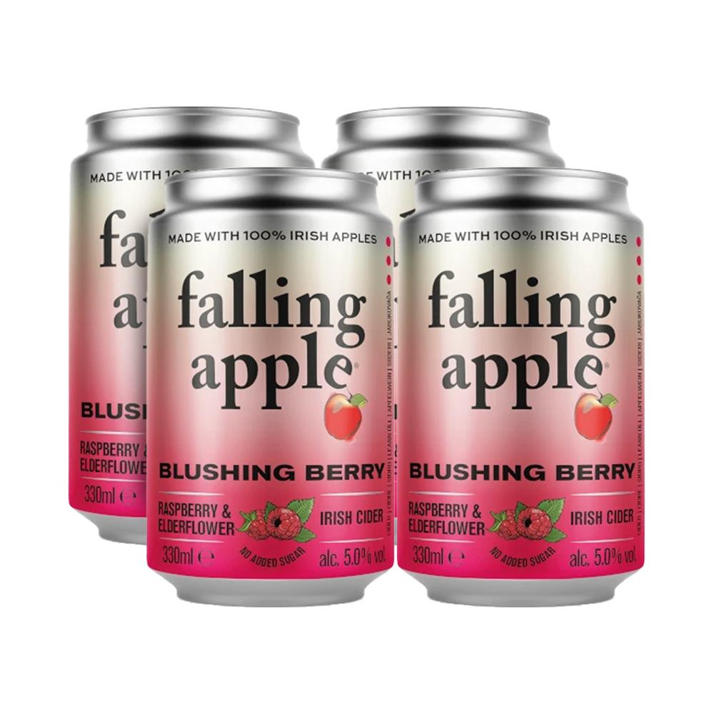 Falling Apple Blushing Berry 330ml 4-Pack