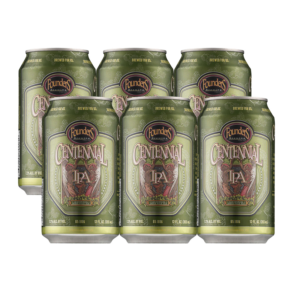 Founders Centennial IPA 6-Pack 355ml Can
