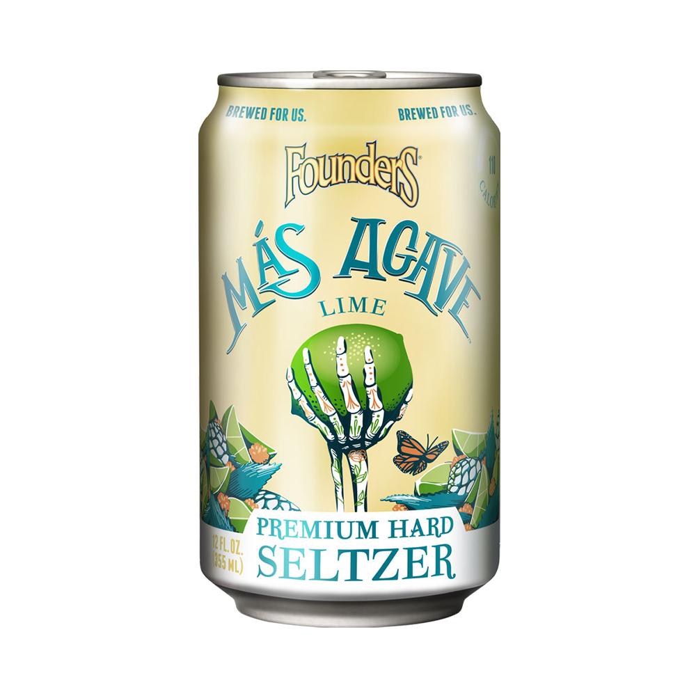Founders Mas Agave Lime Seltzer 330ml