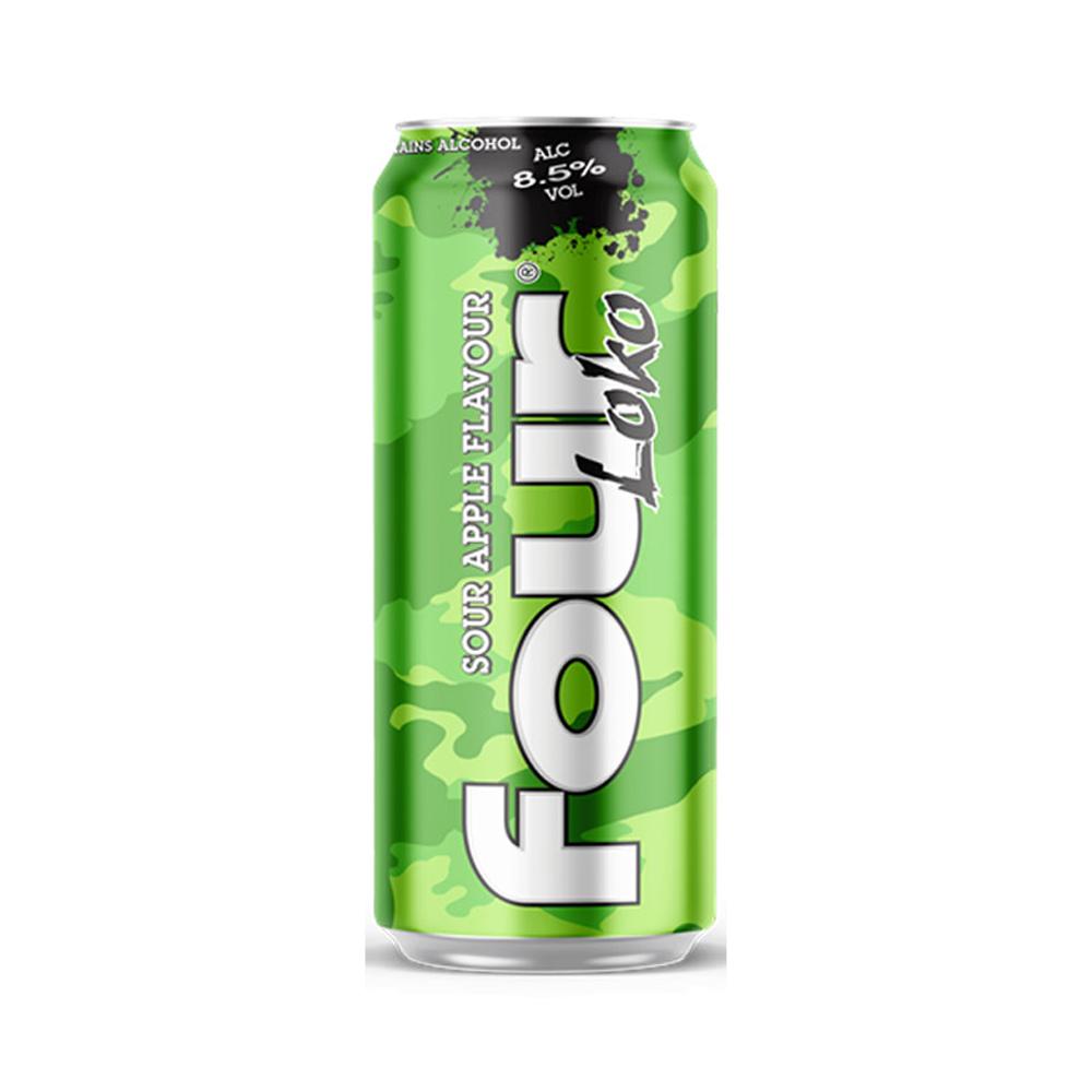 Four Loko Sour Apple 440ml