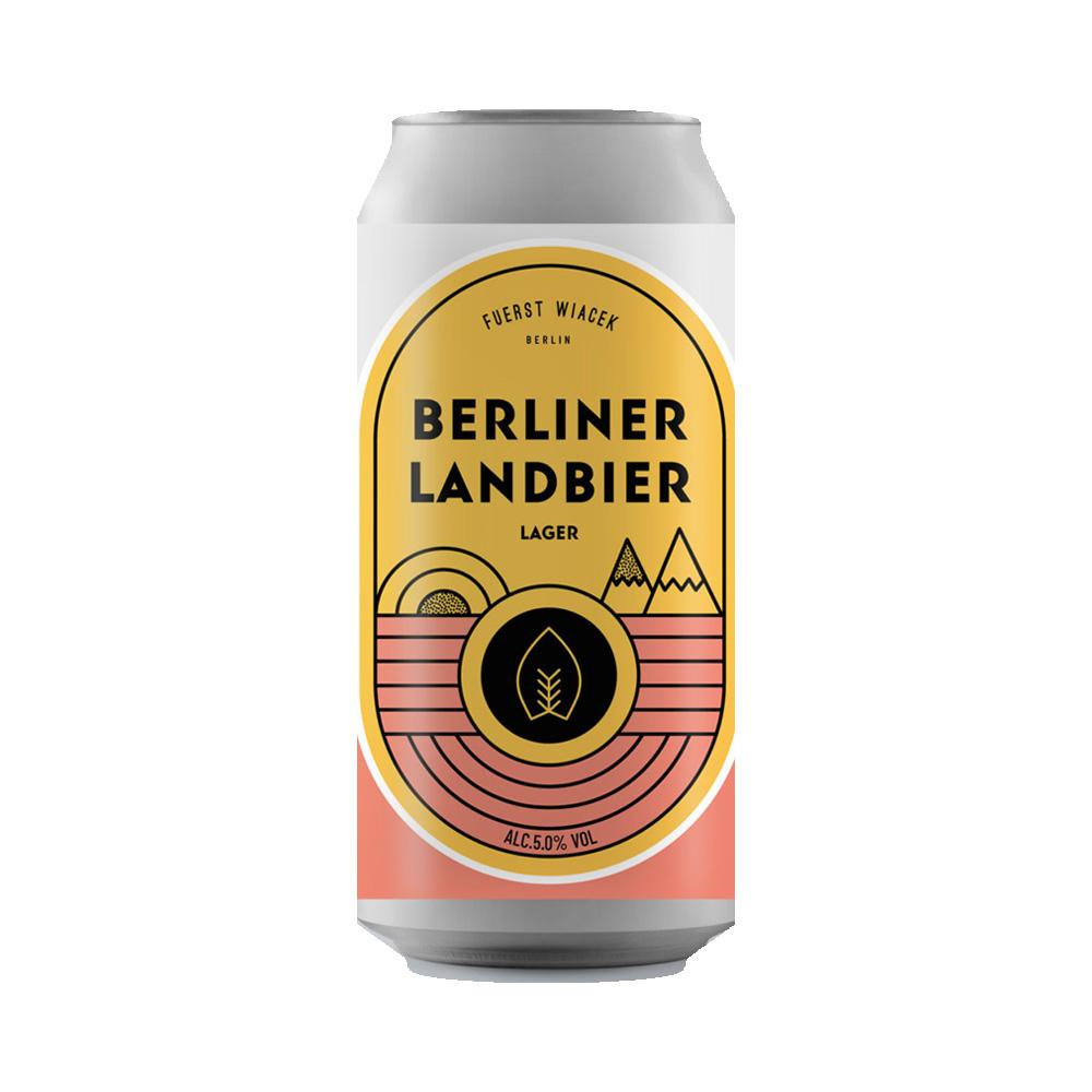 Fuerst Wiacek Berliner Landbier Helles 440ml