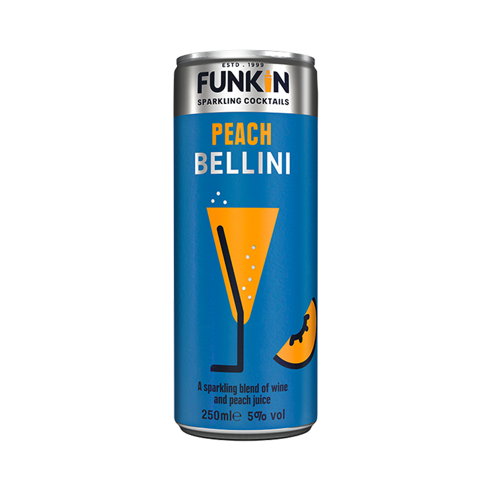 Funkin Peach Bellini 250ml