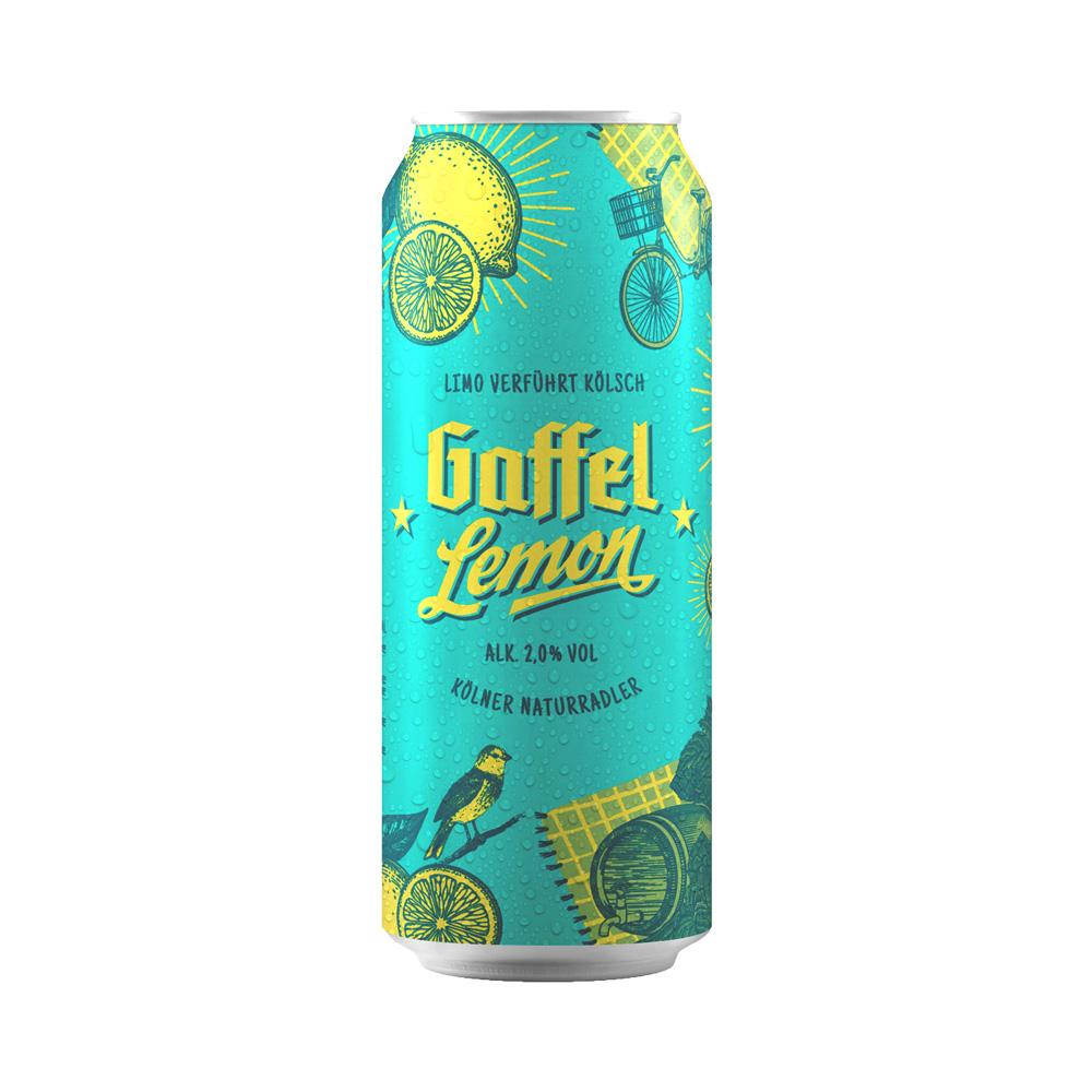Gaffel Lemon Radler 500ml