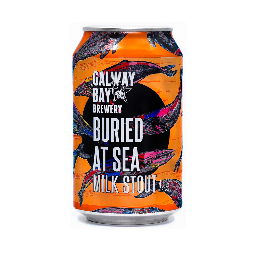 Galway Bay Brewery Buried At Sea Stout 330ml