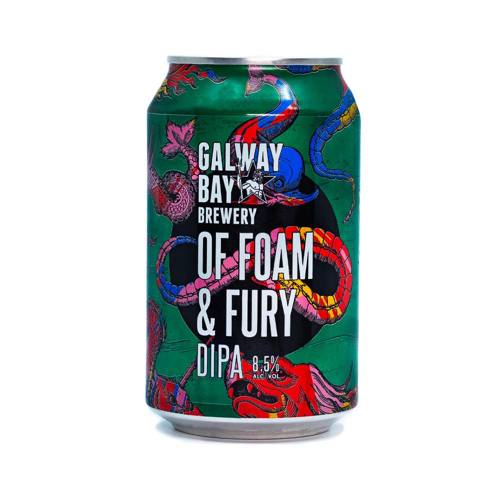 Galway Bay Of Foam & Fury DIPA 330ml