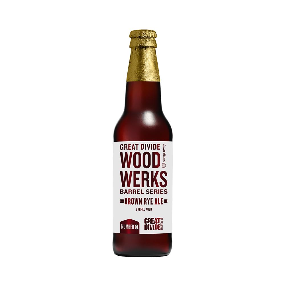 Great Divide Wood Werks Barrel Aged Brown Ale 355ml