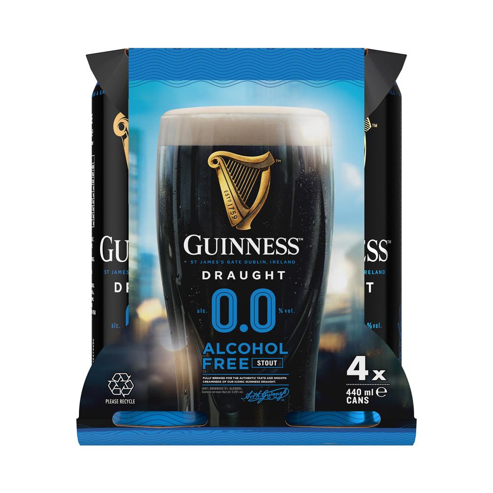 Guinness 0.0 4-Pack 500ml