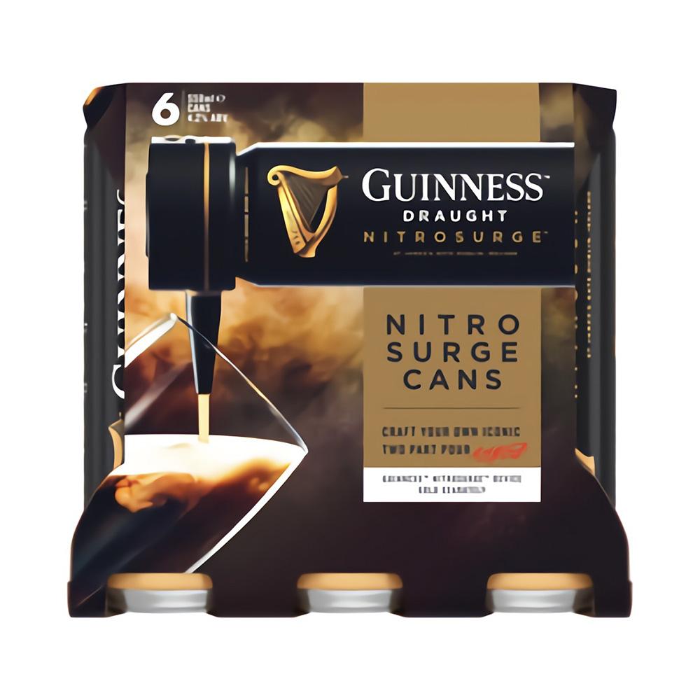Guinness Nitrosurge 6-Pack 558ml