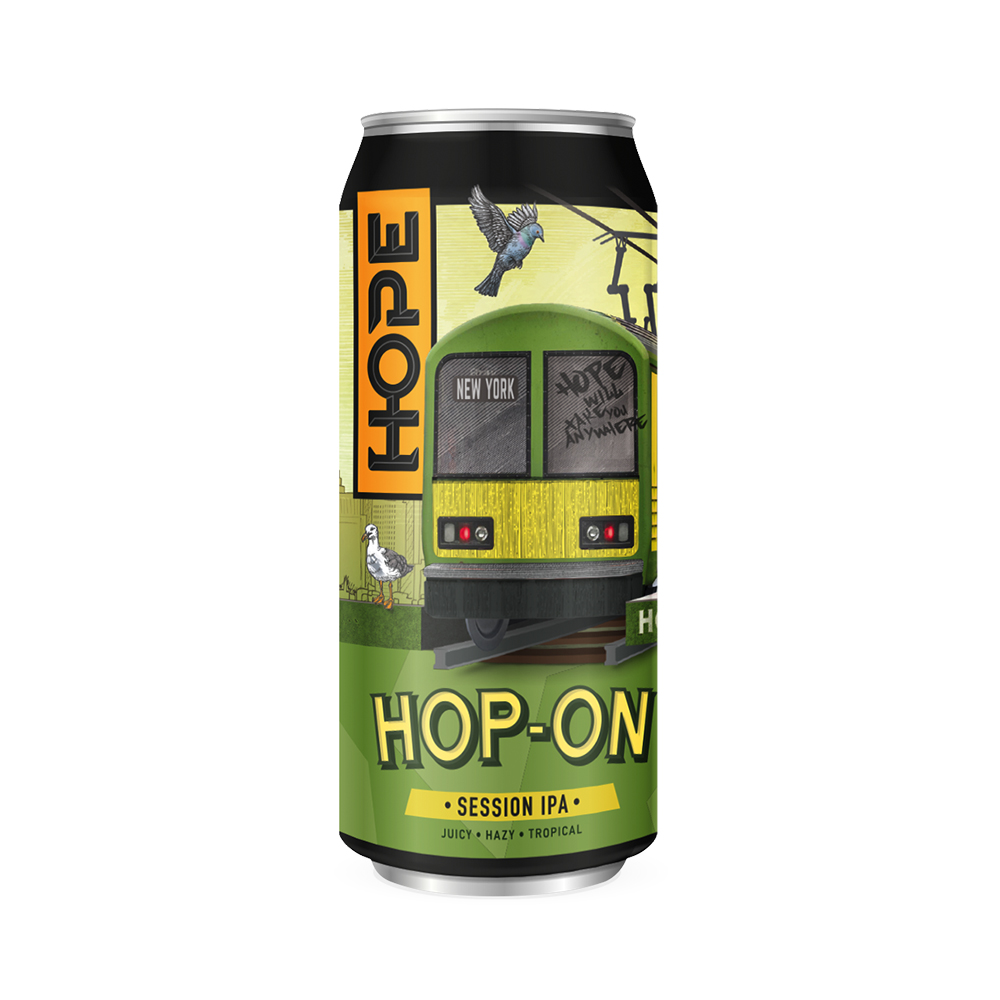 Hope Hop On Session IPA 440ml Can