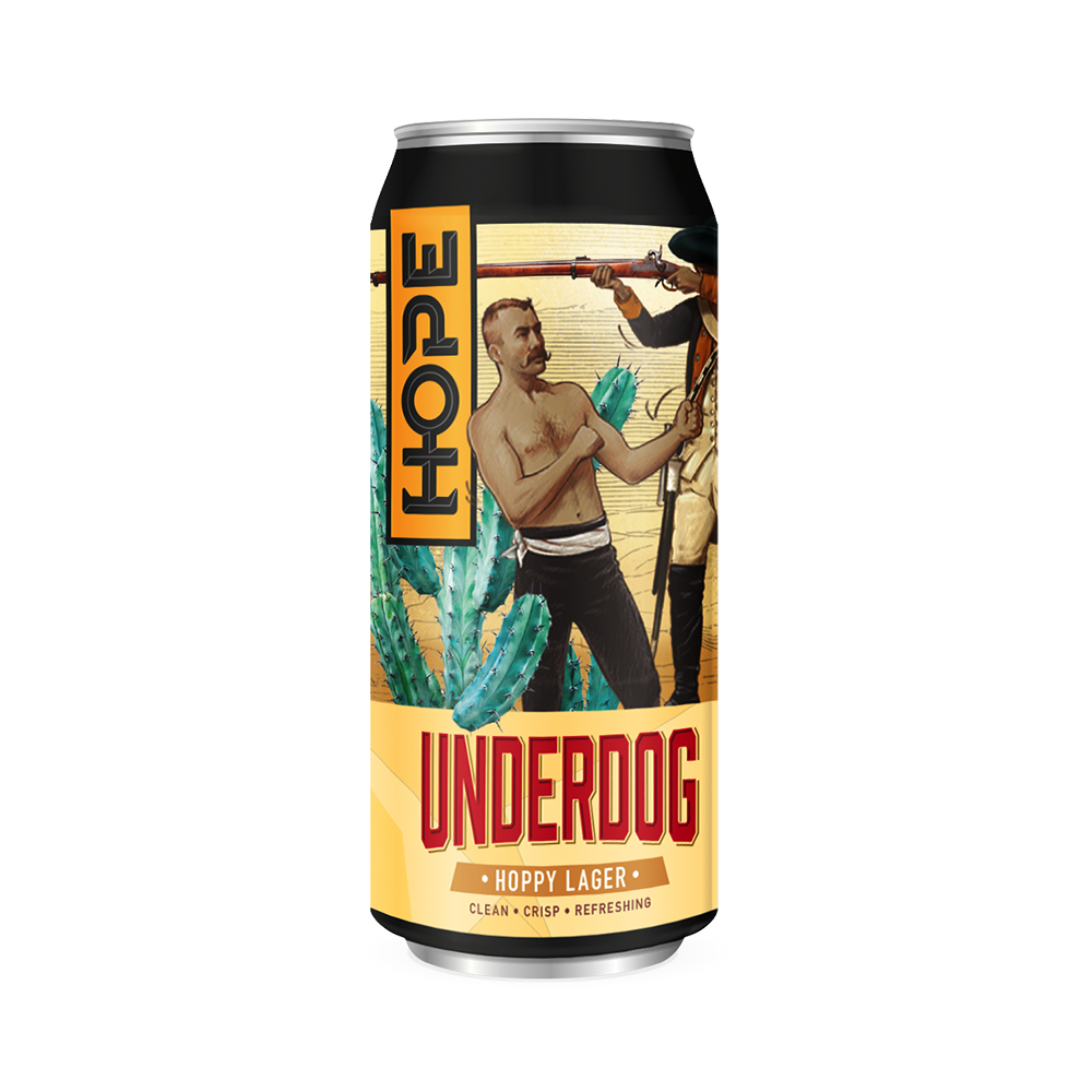 Hope Underdog Lager 440ml Can