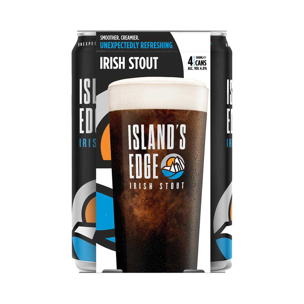 Island's Edge Irish Stout 4-Pack 500ml