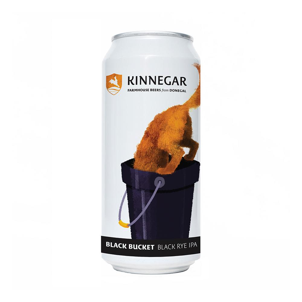 Kinnegar Black Bucket 440ml