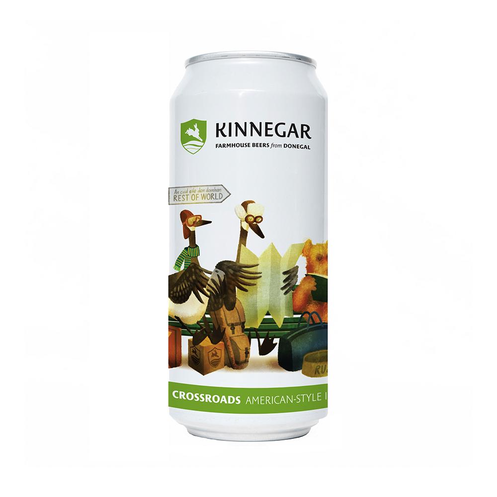 Kinnegar Crossroads American-Style IPA 440ml Can