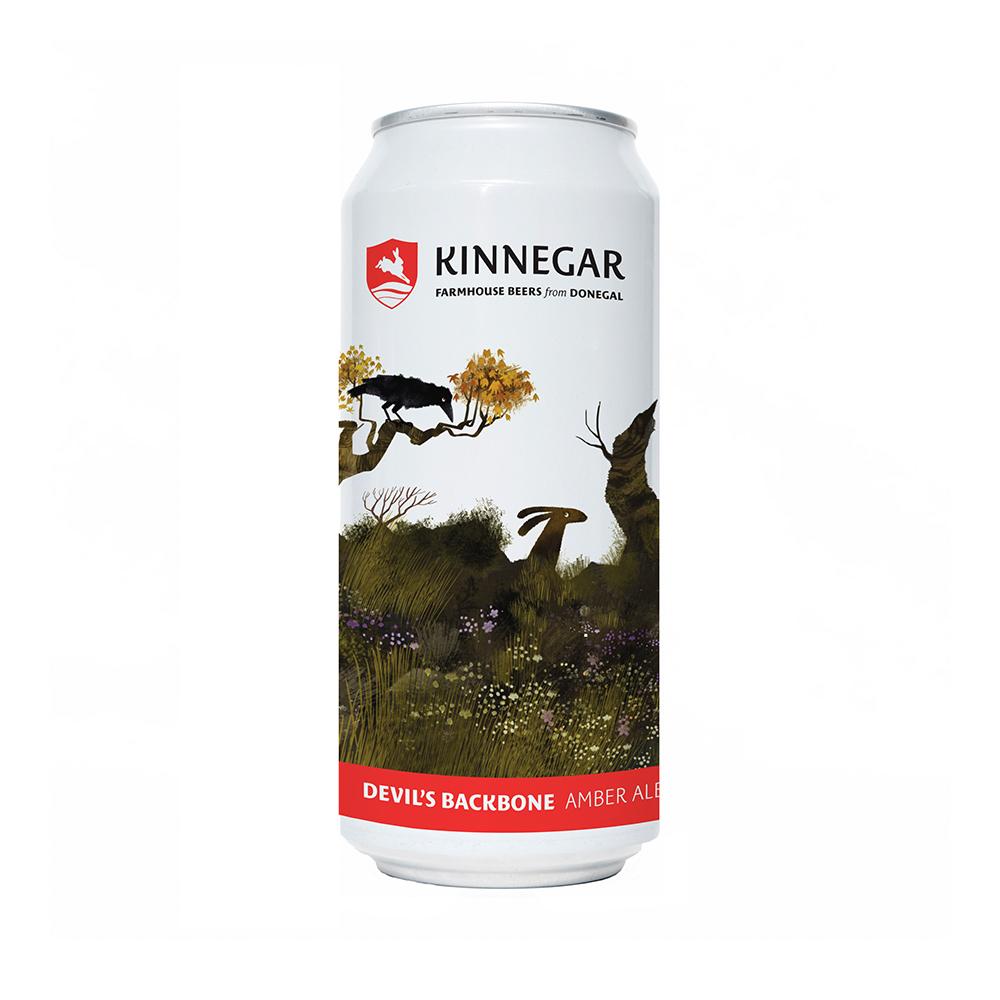 Kinnegar Devil's Backbone Amber Ale 440ml