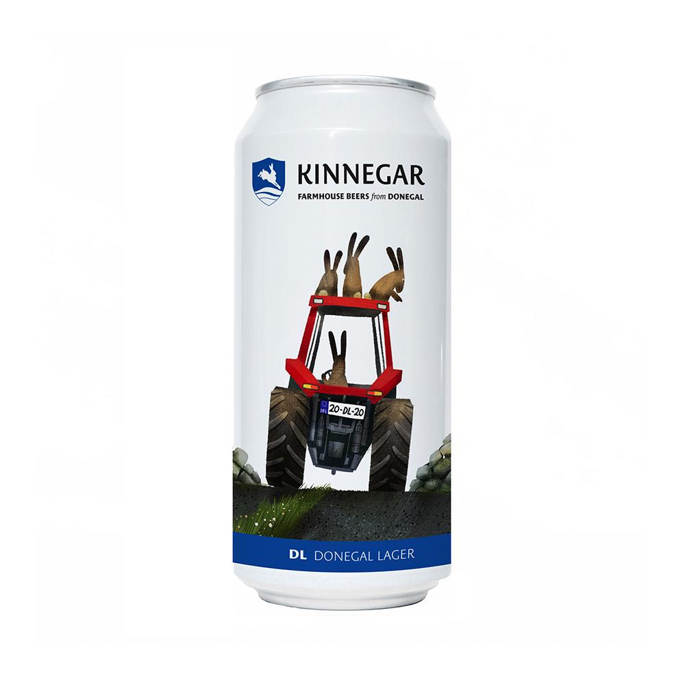 Kinnegar Donegal Lager 440ml