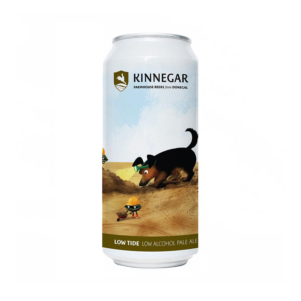 Kinnegar Low Tide Low Alcohol Pale Ale 440ml