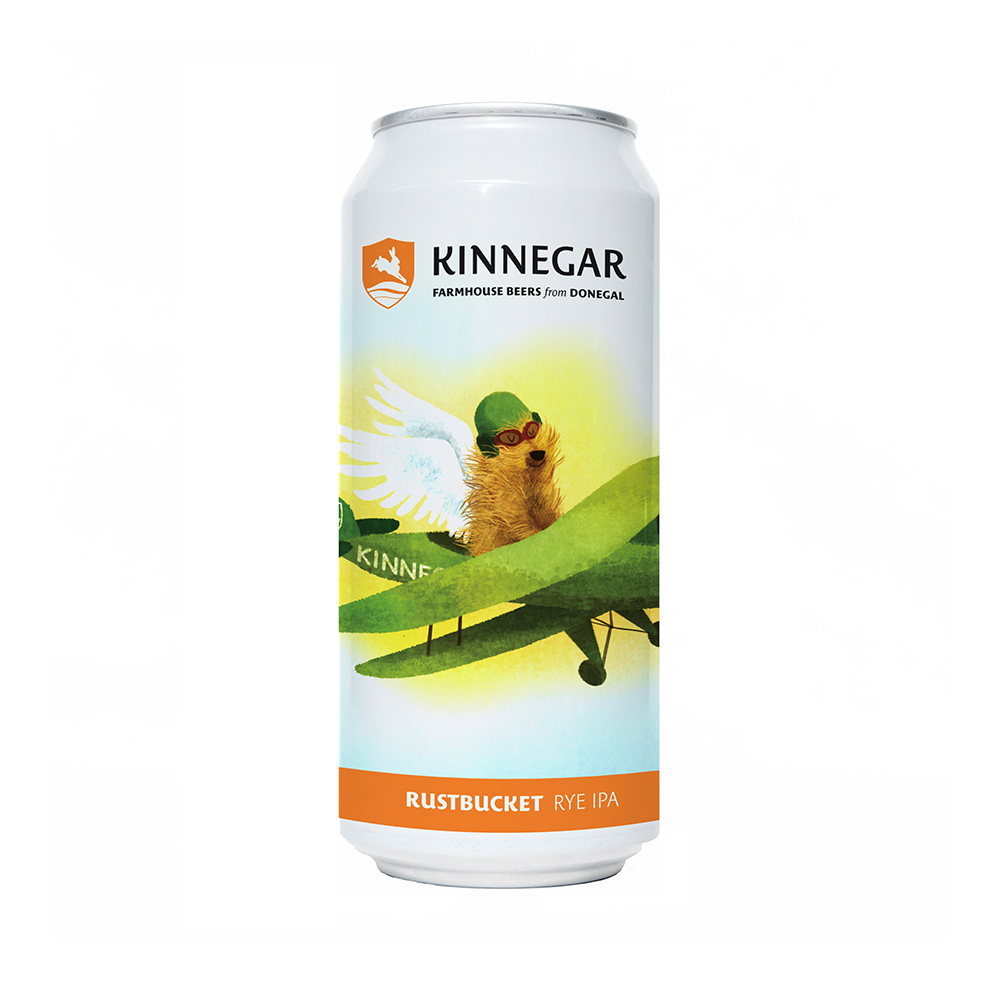 Kinnegar Rustbucket Rye IPA 440ml Can
