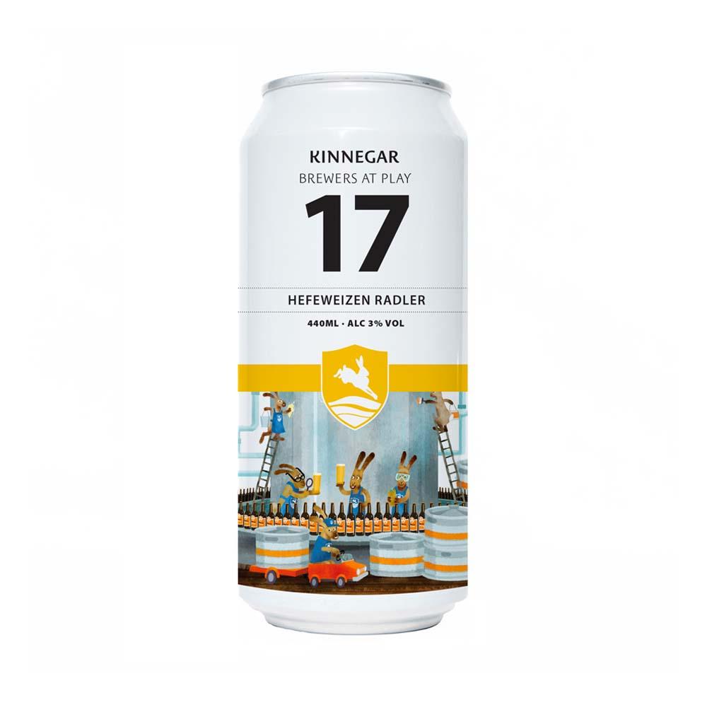 Kinnegar Brewers At Play 17 Hefeweizen Radler 440ml