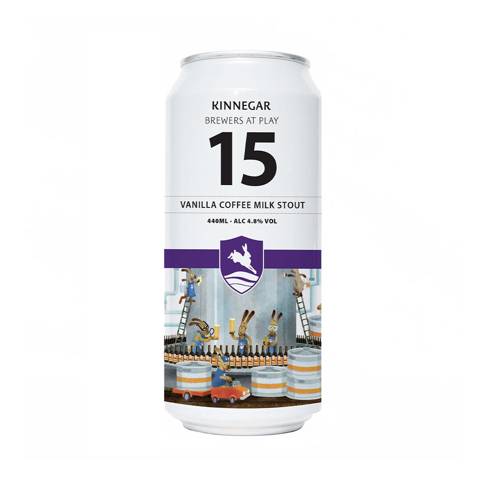 Kinnegar Brewers At Play 15 Vanilla Coffee Milk Stout 440ml