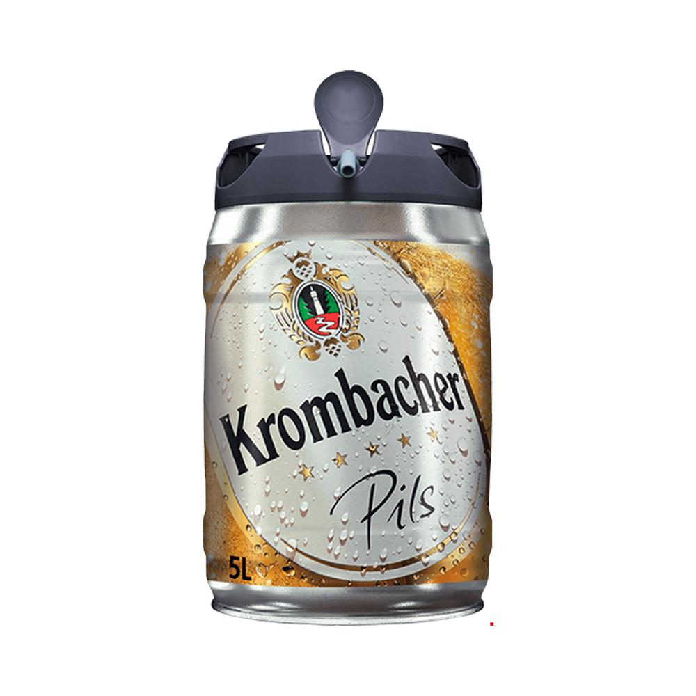 Krombacher Pils Mini Keg 5L