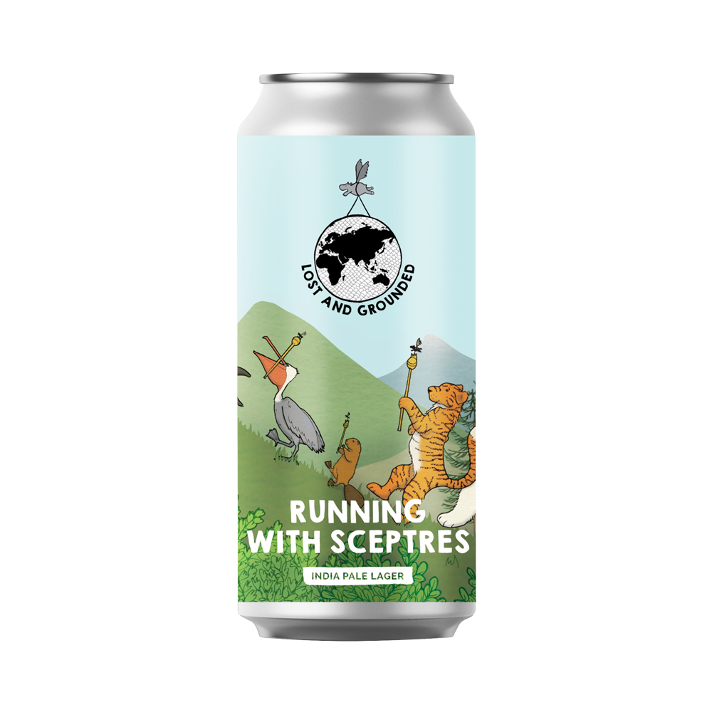 Lost And Grounded Running With Sceptres 440ml