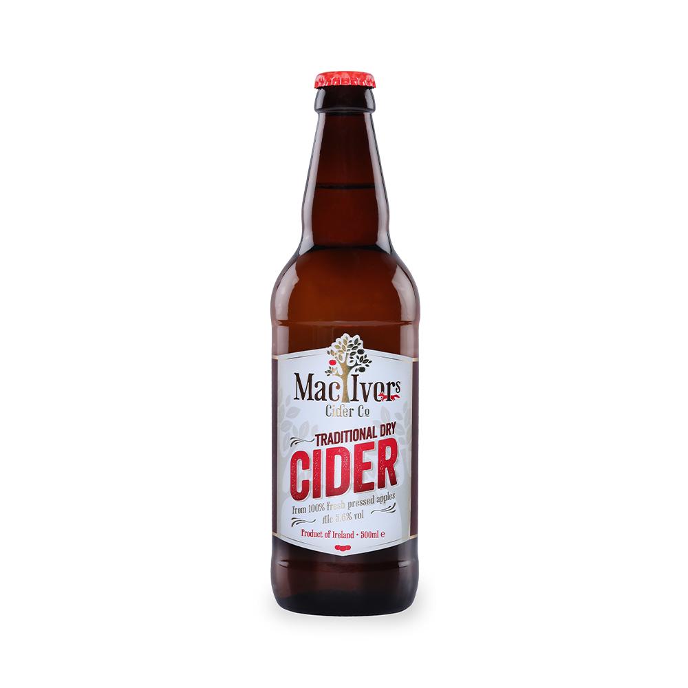 Mac Ivors Traditional Dry Cider 500ml