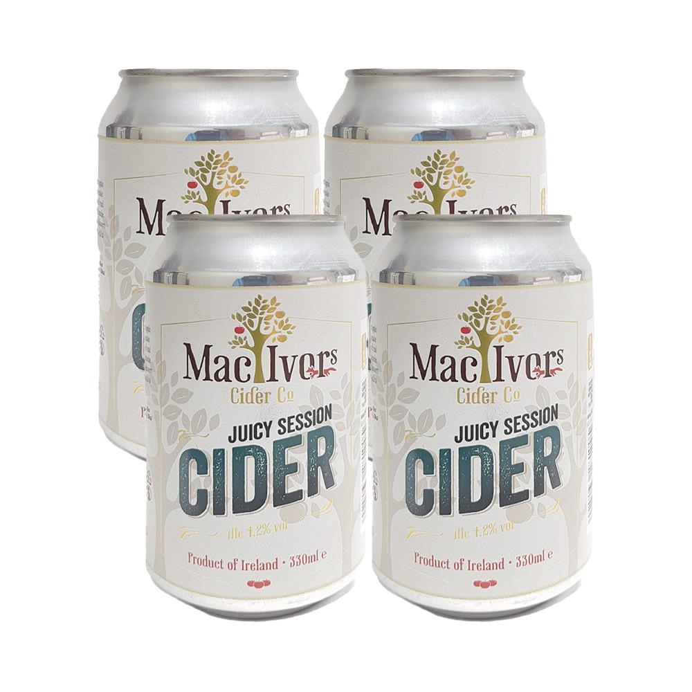 Mac Ivors Session Cider 4-Pack 330ml