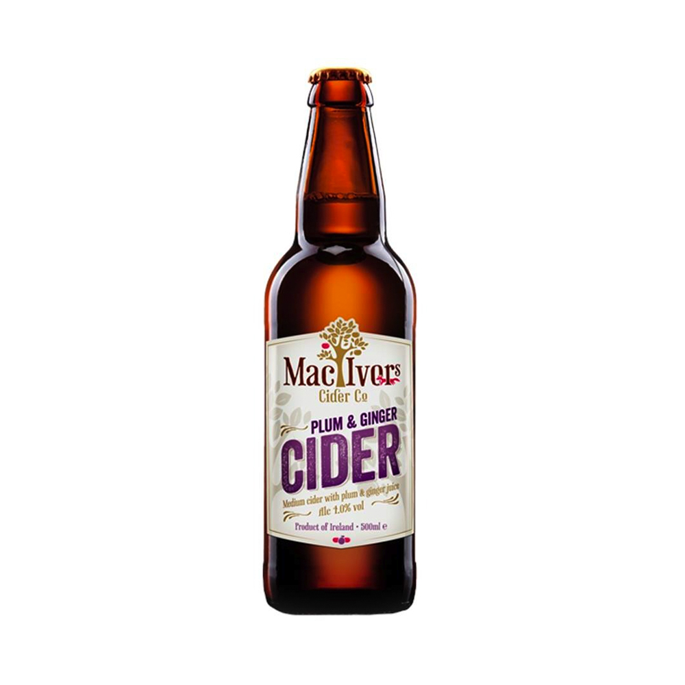Mac Ivors Plum & Ginger Cider 500ml