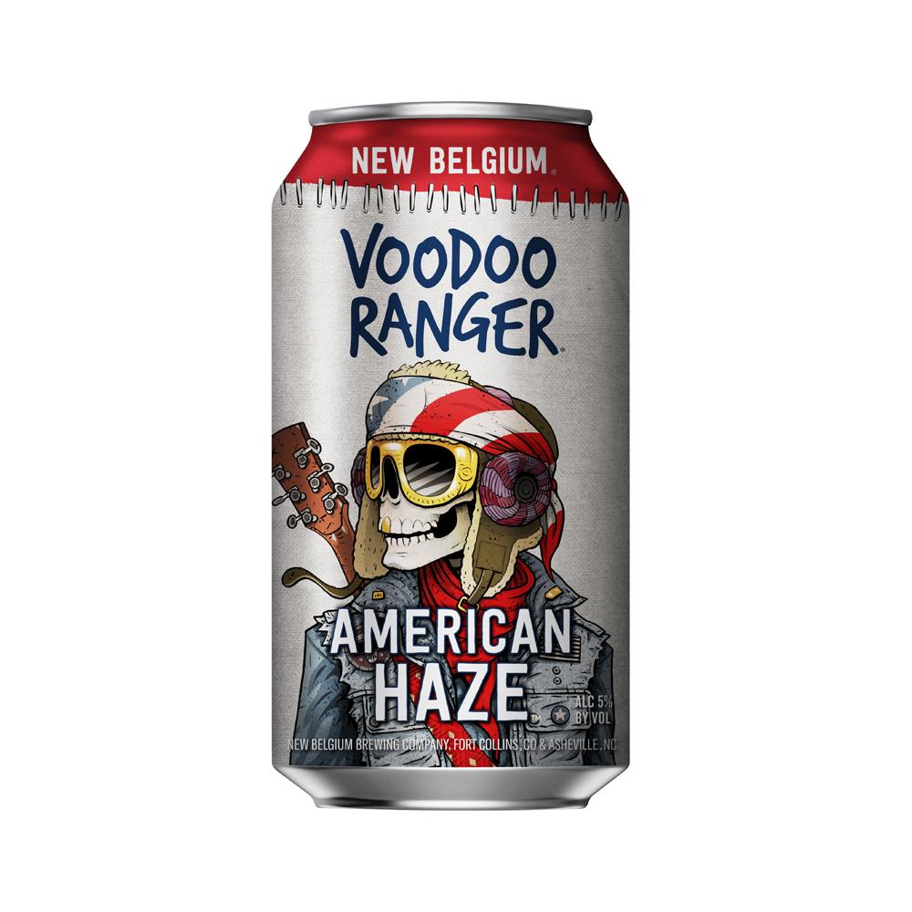 New Belgium Voodoo Ranger American Haze IPA 355ml Can