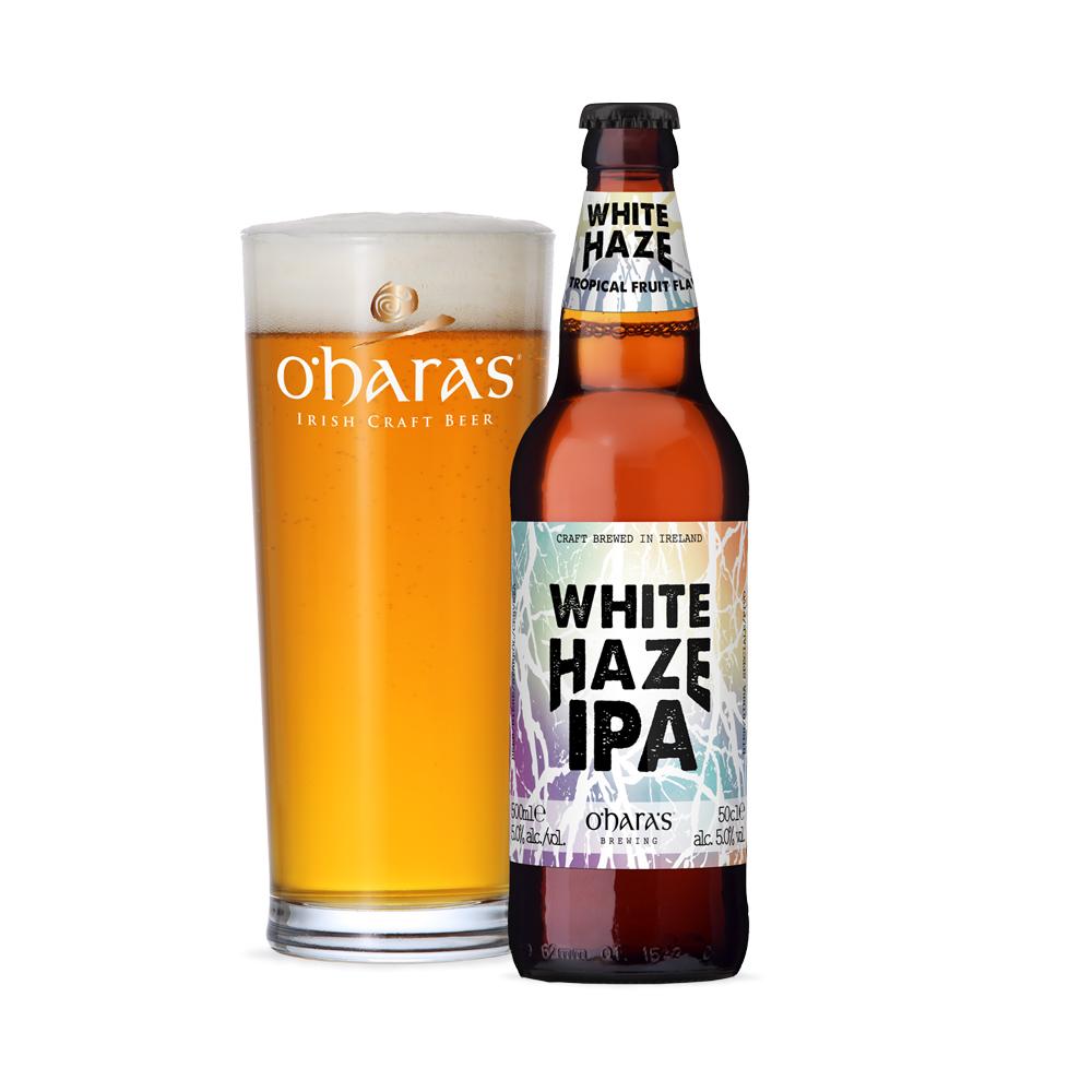 O'Haras White Haze IPA 500ml Bottle