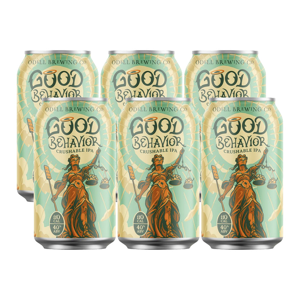 Odell Good Behavior Crushable IPA 6-Pack 355ml Can