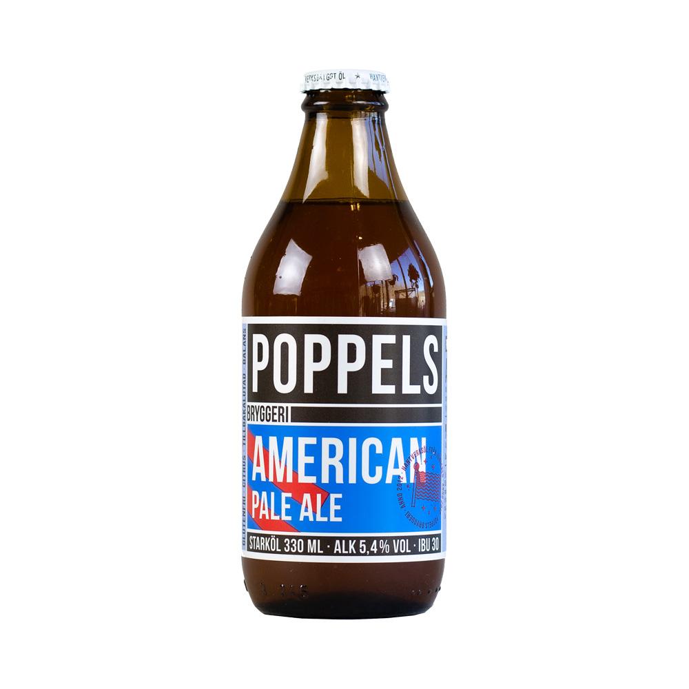 Poppels American Pale Ale 330ml
