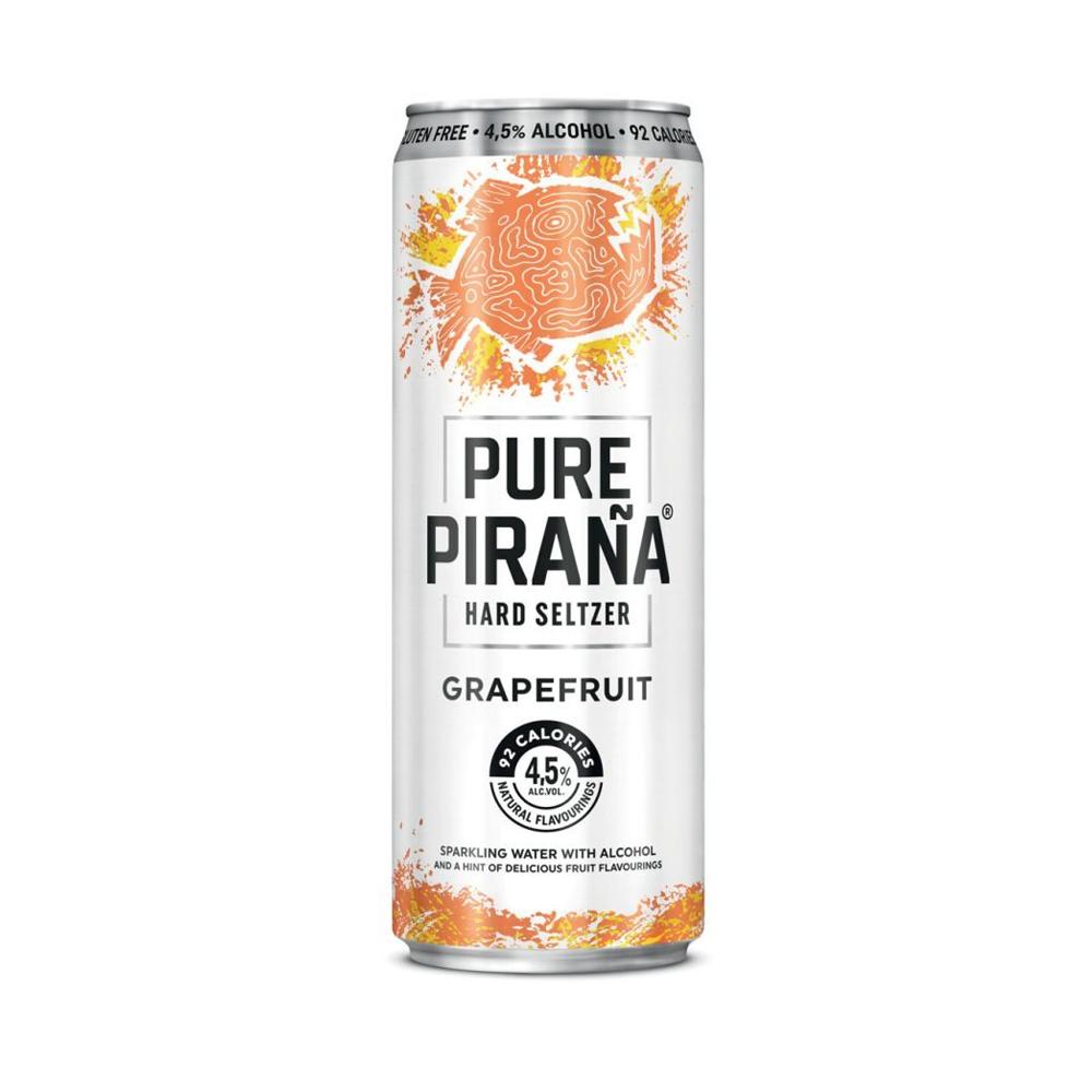 Pure Pirana Grapefruit 330ml
