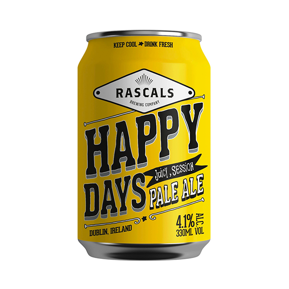 Rascals Happy Days Pale Ale 330ml Can